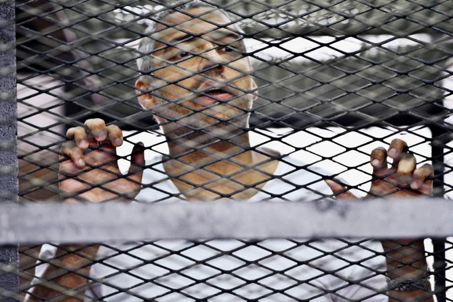 La condamnation en juin à des peines de... (PHOTO HAMADA ELRASSAM, ARCHIVES AP)